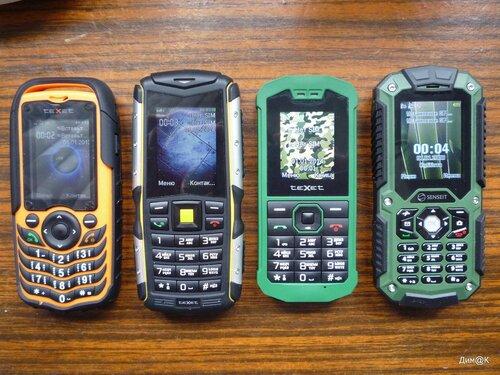 Texet TM-510R, TM-511R, TM-509R и Senseit P10