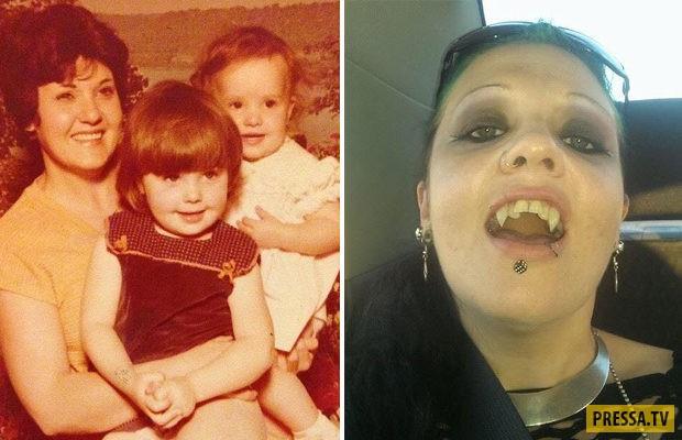 Вампирша из Австралии, 20 лет не видела солнце (6 фото)