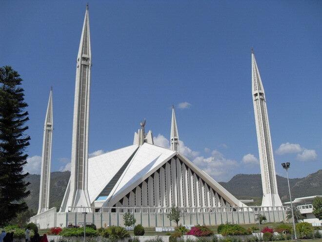 Мечеть Шах Фейсал. Пакистан