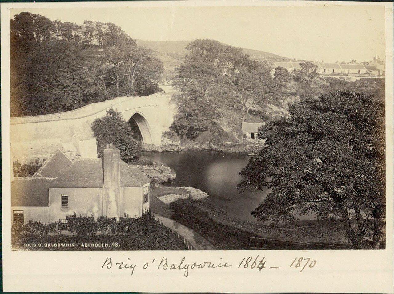 Абердин (Шотландия).  Мост «О'Балгоуни». 1864-1870-е
