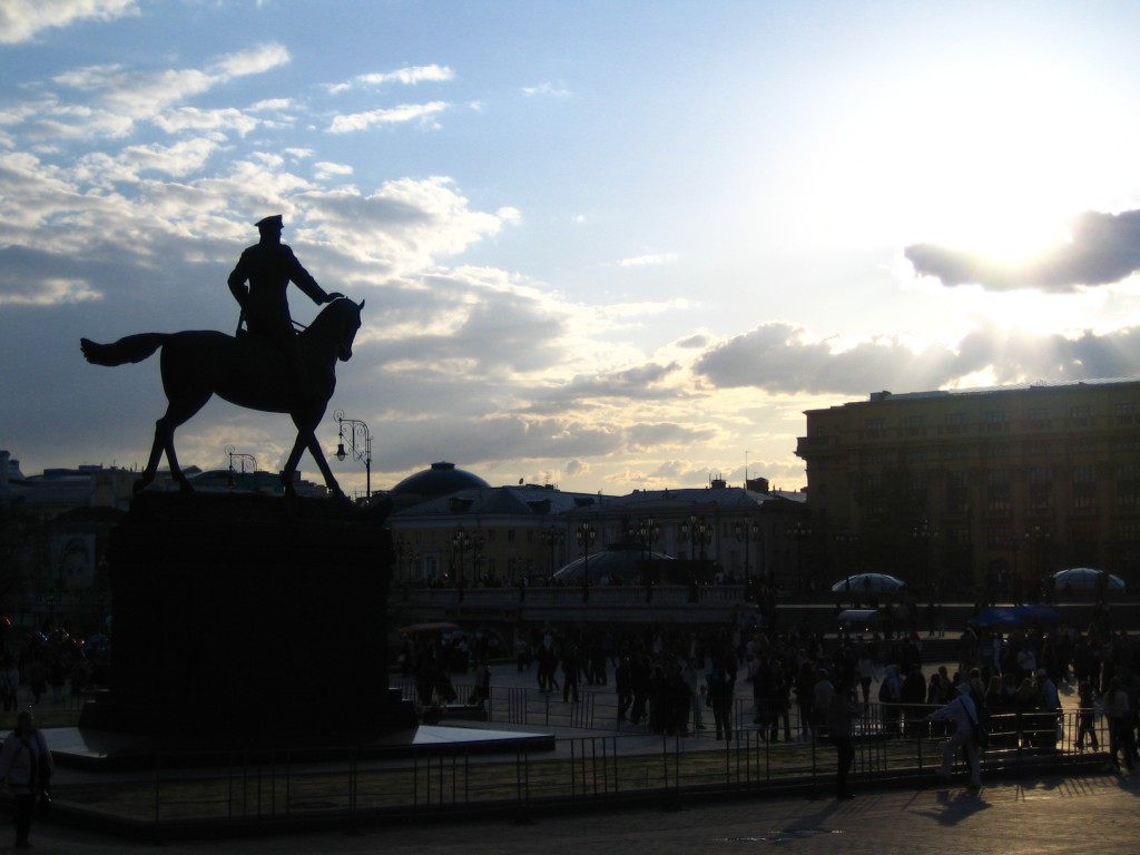 Памятник маршалу Георгию Константиновичу Жукову, Манежная площадь