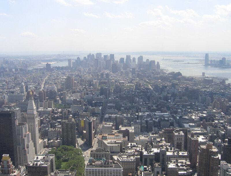 От Мэдисон-сквер до Лоуер Манхэттен