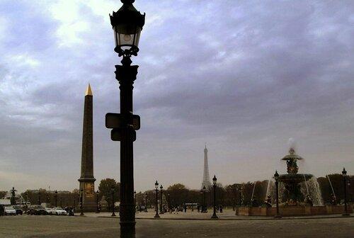 Париж. Площадь Конкорд (Согласия)
