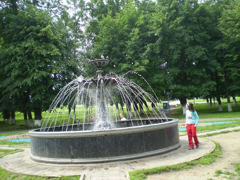 Парк Липки в г. Владимир
