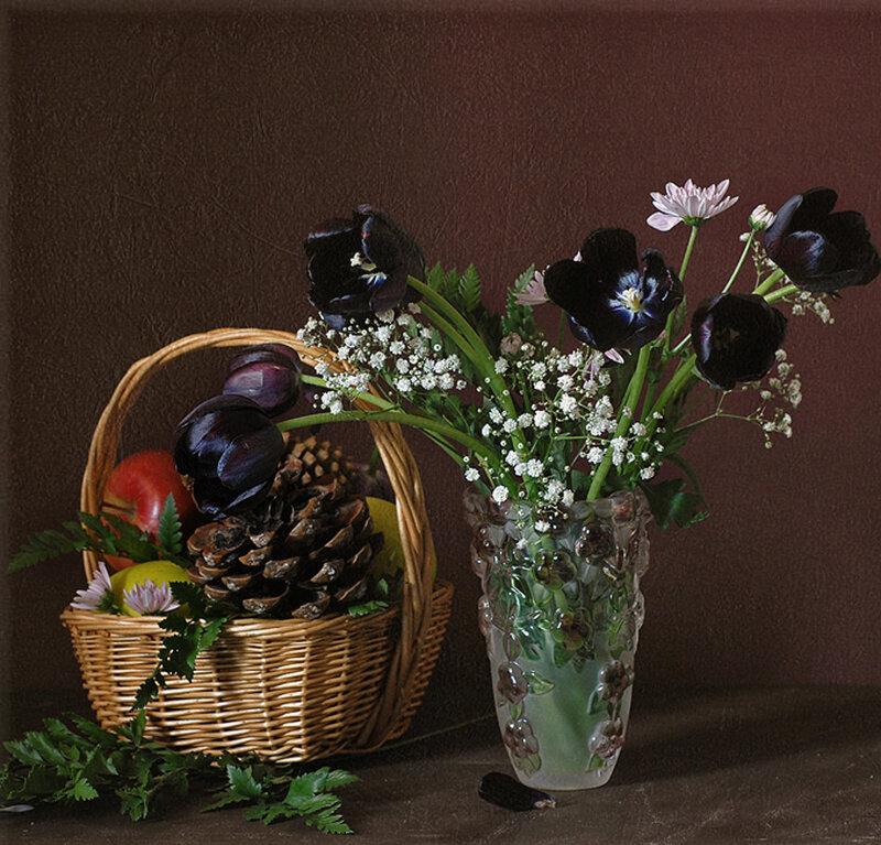 Темные тюльпаны