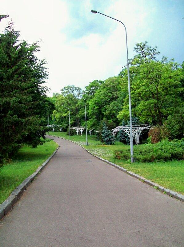 Дорога Печерского парка