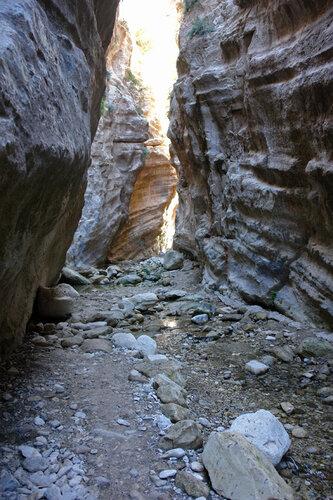 В ущелье св.Георгия
