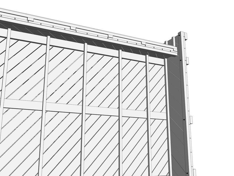 Каркас загородного быстровозводимого жилого дома, 100х100, 50х100, 25х150-200, саморез и шпильки болтового соединения.