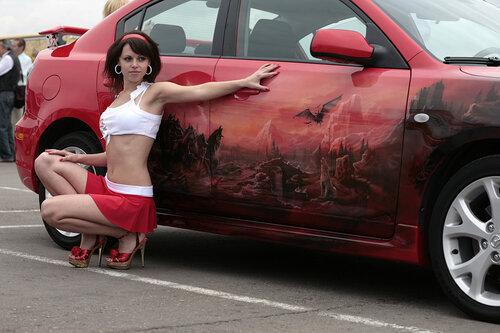 Mazda3 аэрография