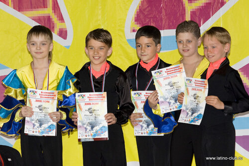 Школа танцев Латино-Клуб Москва на World Dance Olympiad 2009