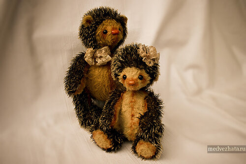 Авторские мишки-тедди (автор Инна Кушнир) Фрутти и Суок.