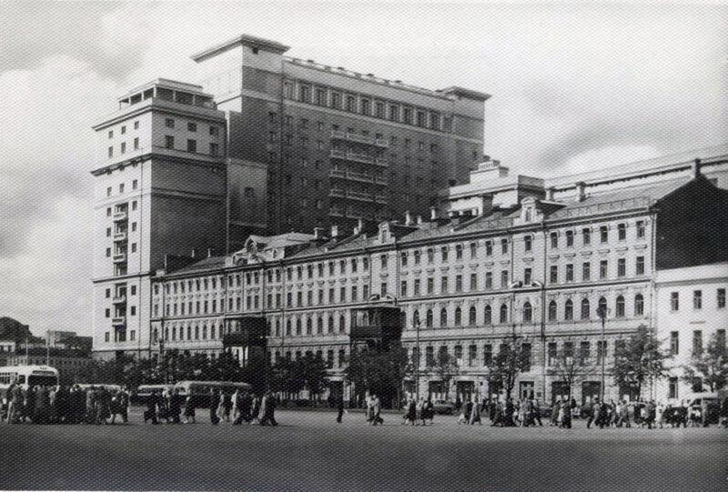Москва. Гостиница