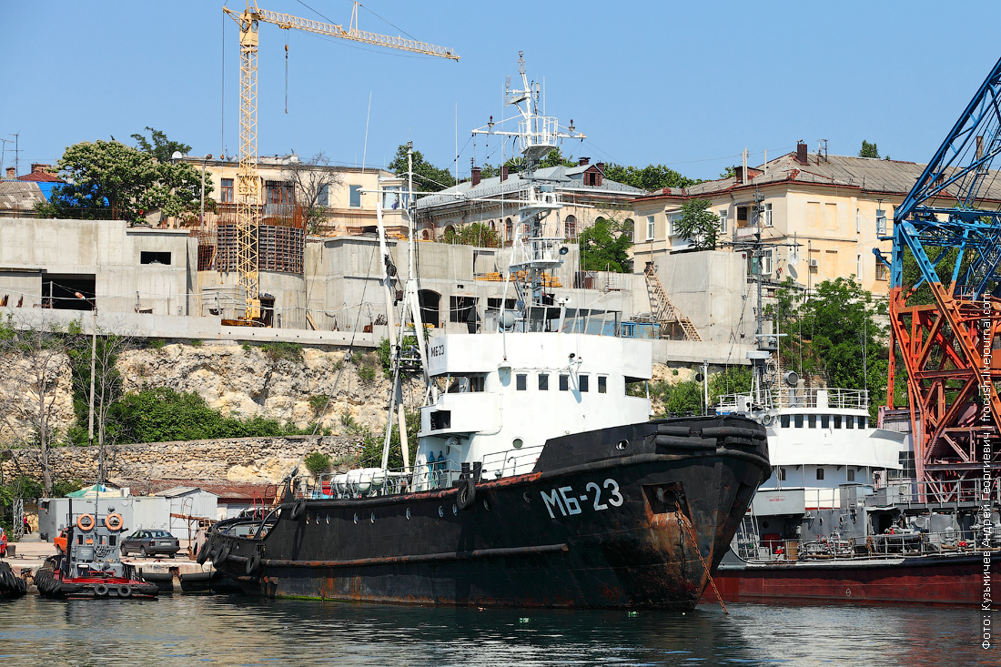 Морской буксир МБ-23