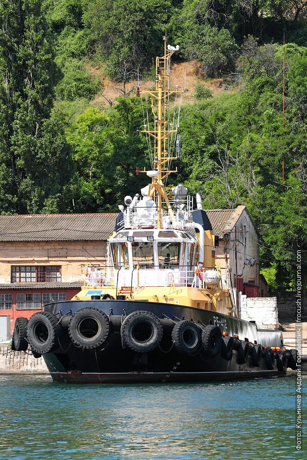 Рейдовый буксир РБ-412