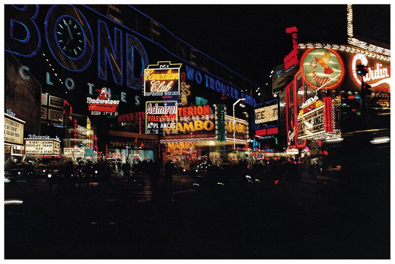 1955 Erwin Blumenfeld's Times Square.jpg