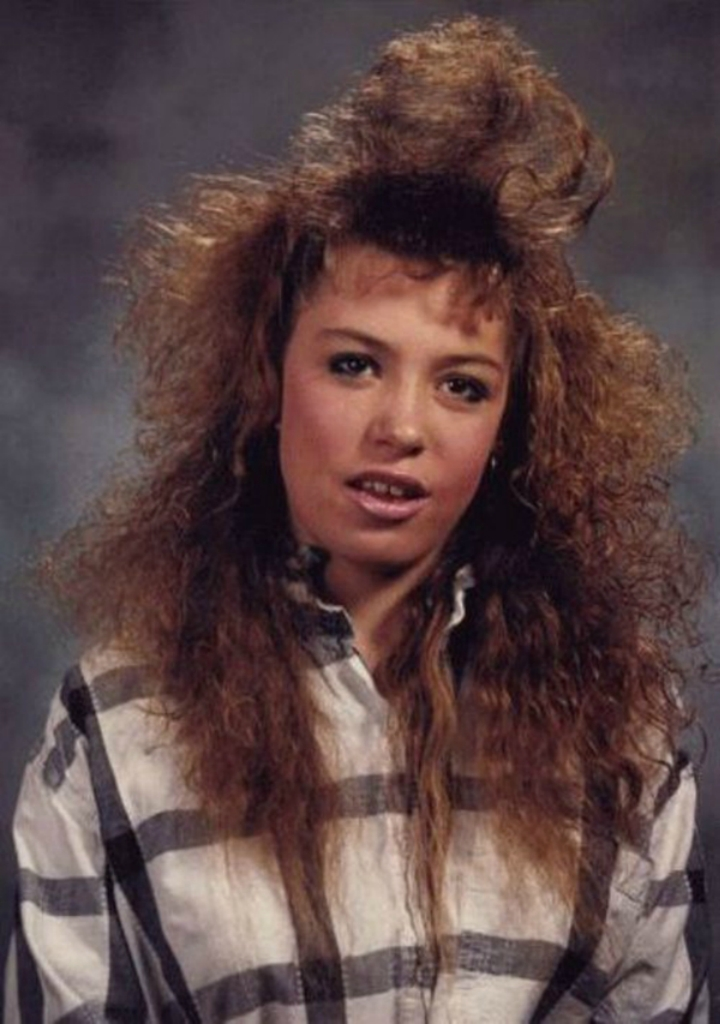 Причёски 80 х