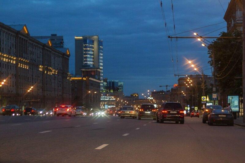 Новинский бульвар, Москва