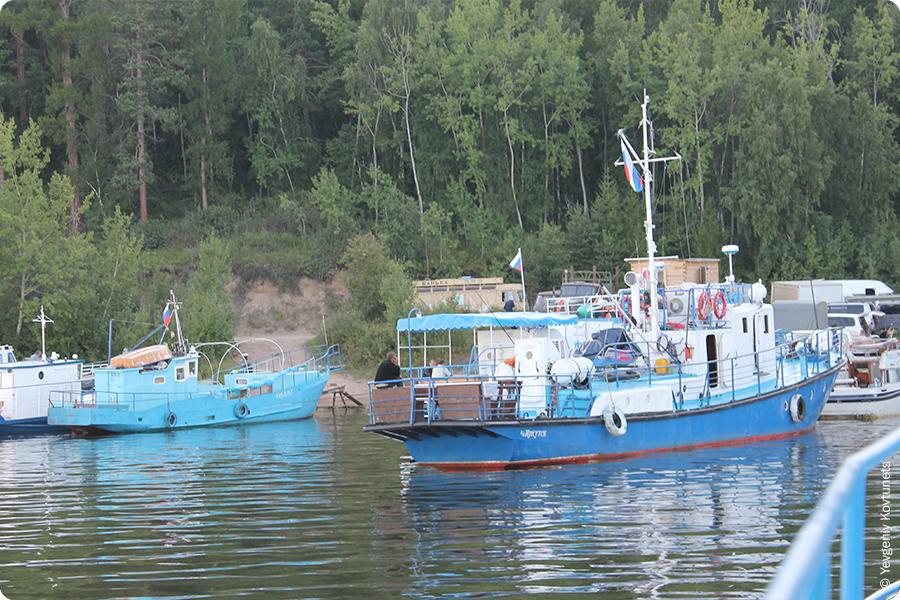 пирс в Монахово, Святой Нос, Байкал