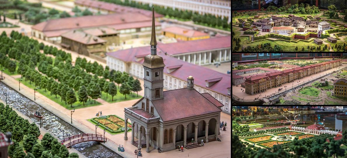 Петровская акватория: исторический Гранд Макет