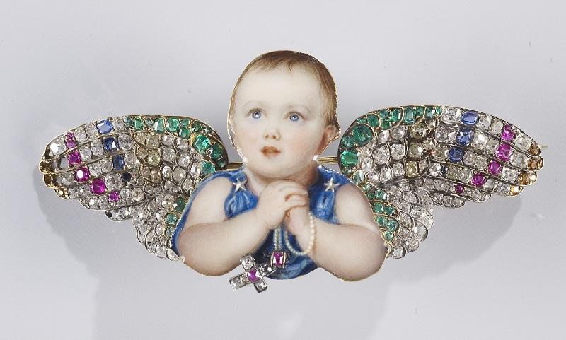 Брошь Виктория, королевская принцесса  1842