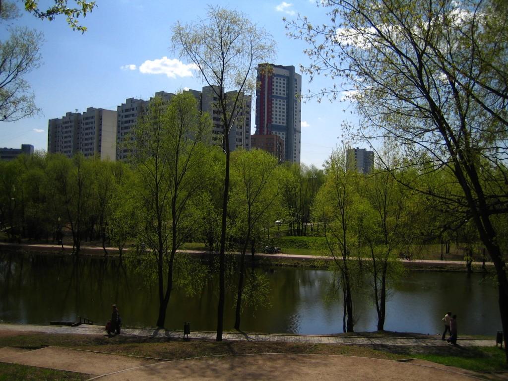 Леоновский пруд, 31-й микрорайон Ростокино, Тридцатипятиэтажный монолитный жилой дом