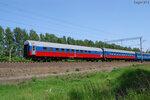 Прицепные вагоны сообщением Берлин - Иркутск (вагон Риц) и Варшава - Иркутск (вагон Аммендорф) в поезде Минск - Иркутск