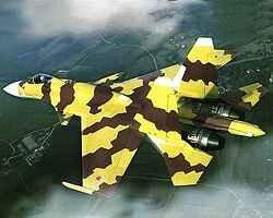 Су-35 многоцелевой истребитель