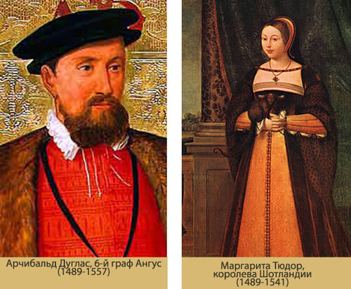 маргарита тюдор королева шотландии