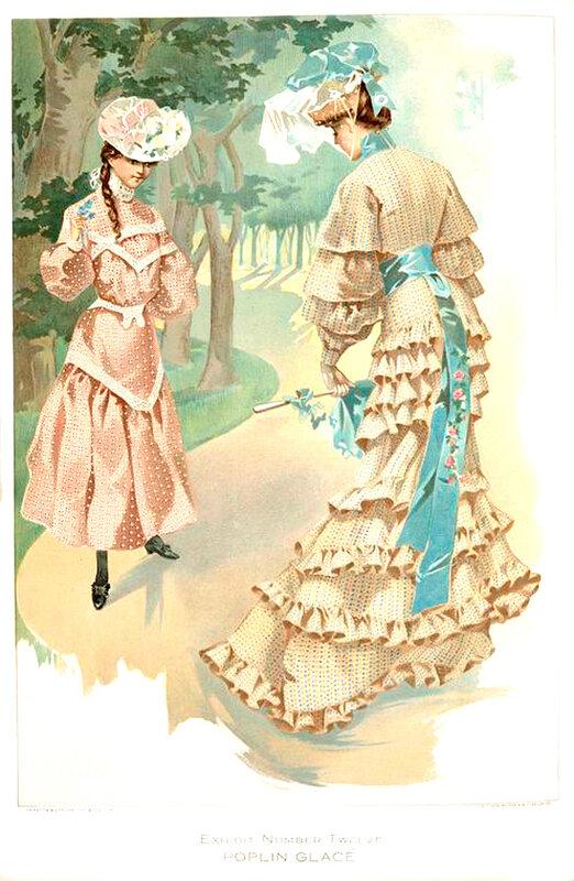 Женские платья 1904 года