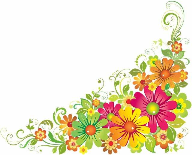 Кладовая красивых цветочных веньеток, которые можно использовать для вышивок, аппликаций, витражей, различных...