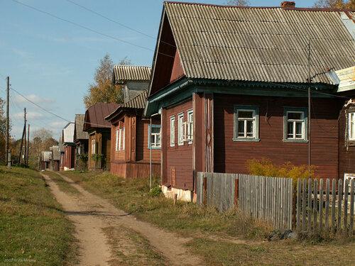 Деревня Стрелка