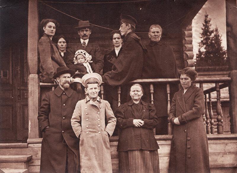 Моя семья в 1912 году