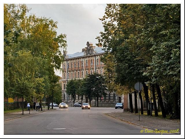 На улицах Елгавы