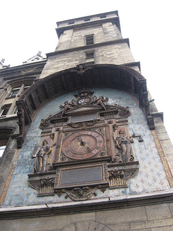 Самые старые часы Парижа