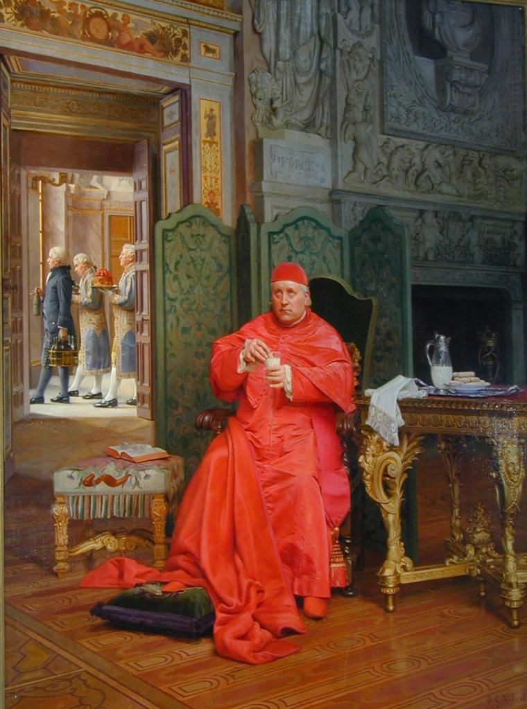 Jehan Georges Vibert ,The Diet