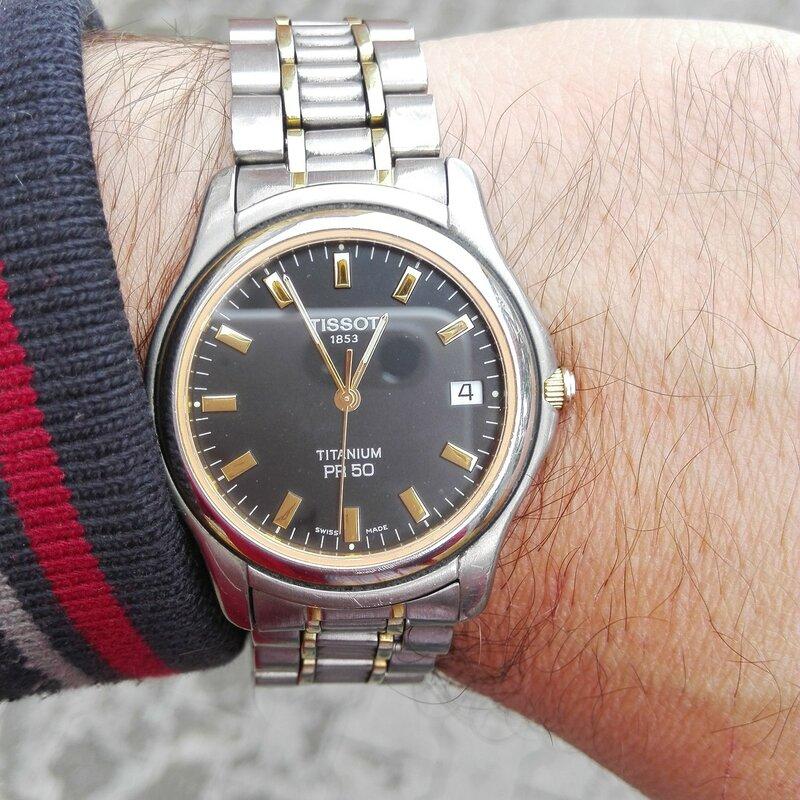 Pr 50 Titanium t34748131 - Tissot Pr50 wrist