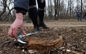 В Донецкой области на мине подорвался гражданский автобус