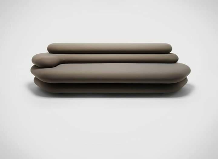 Слоеная софа от дизайнера  Макио Хасуикэ
