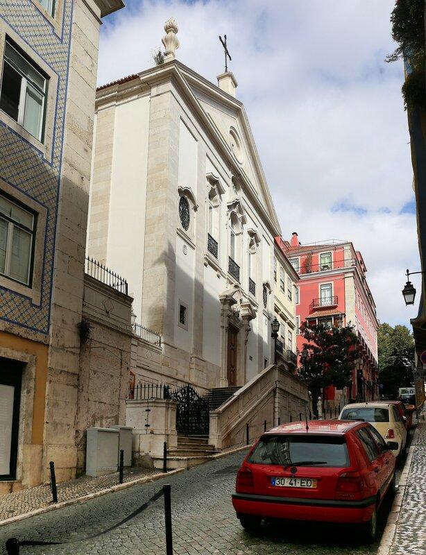 Lisbon. Church of The blessed sacrament (Igreja do Santíssimo Sacramento)