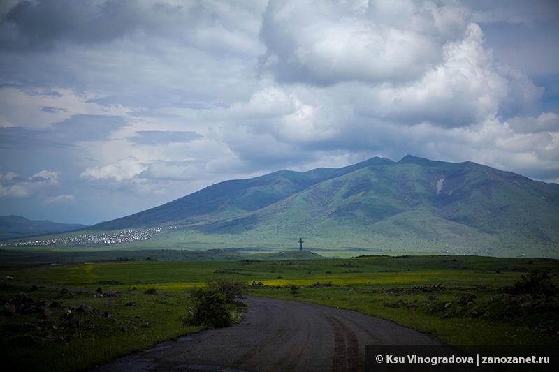Гора Арагац, Армения.