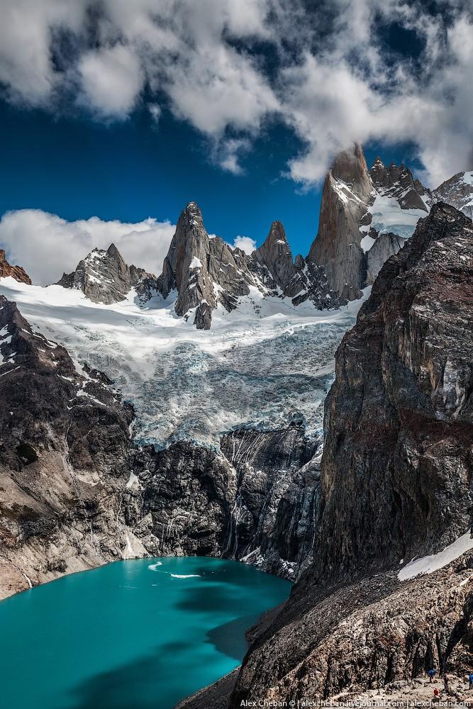 Патагония: Фицрой и Laguna de los Tres (28 фото)