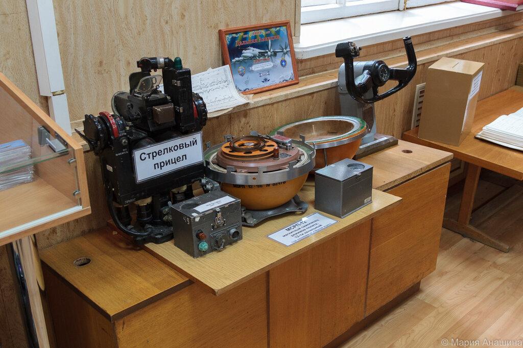 Экспозиция самолетного оборудования, Музей Дальней авиации, Рязань