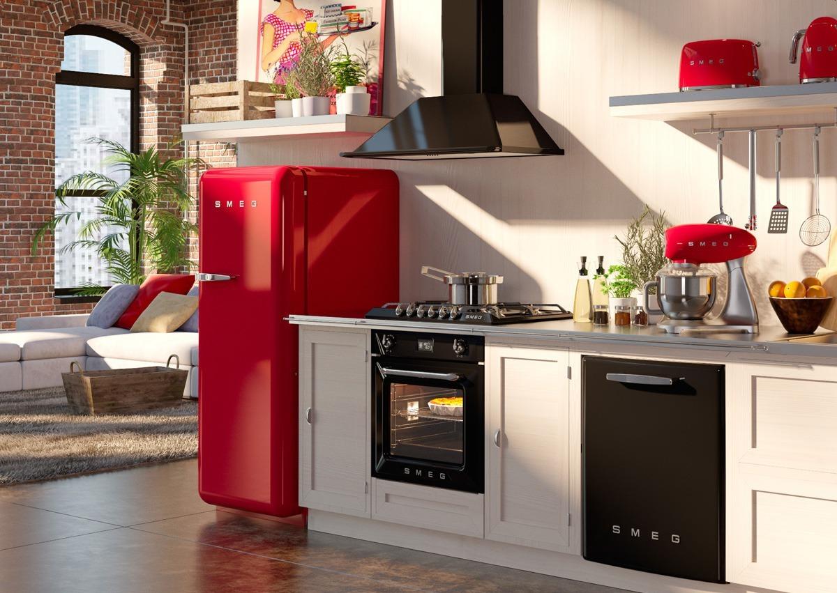 Кухонный дизайн - Краснодар - студия дизайна кухонь - бытовая техника Smeg