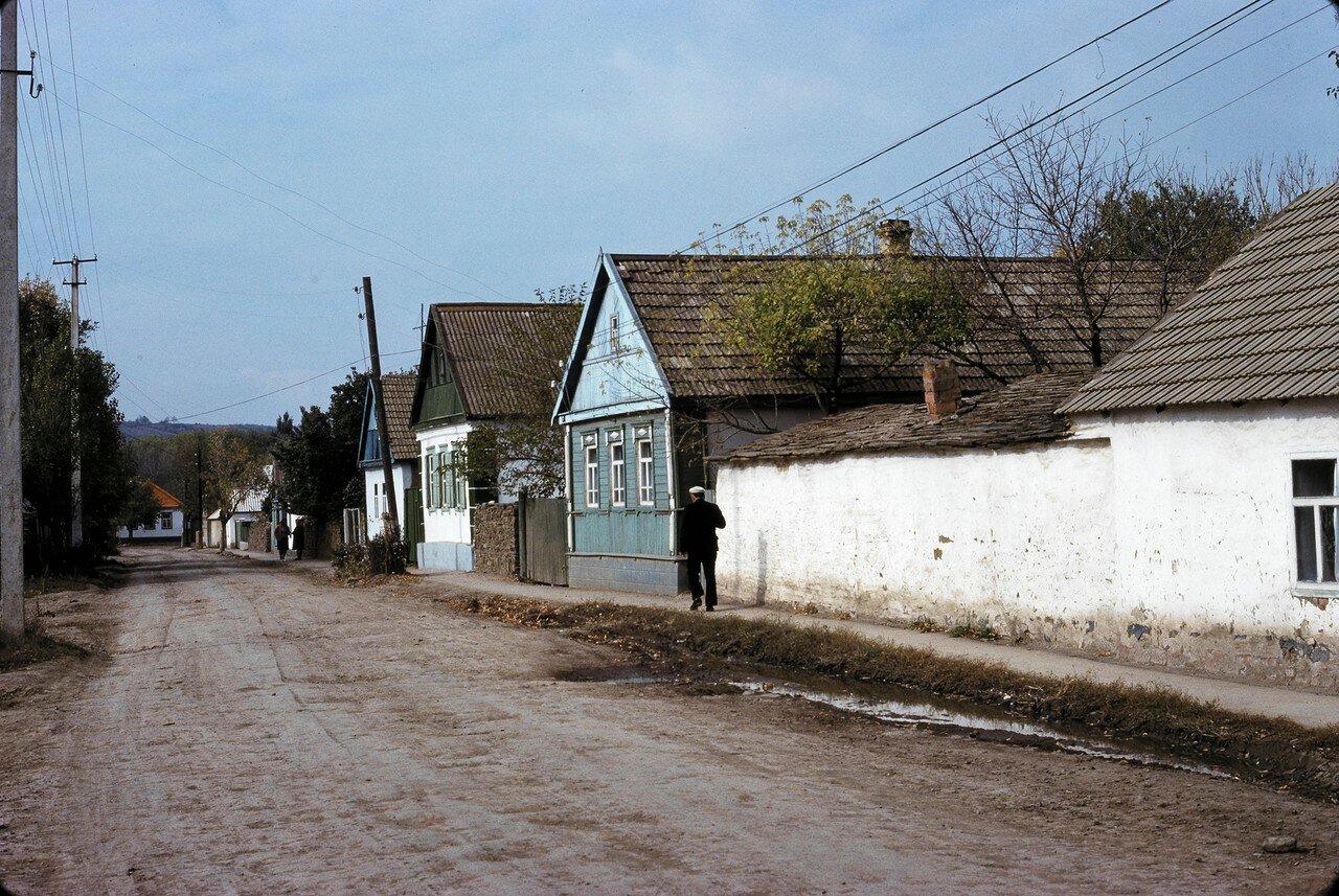 Дома колхозников в колхозе к югу от Ростова-на-Дону