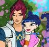 Винкс магазин аватарок и Стильная игра макияж для Риннаны!