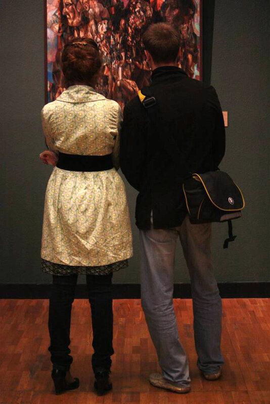 Ночь музеев. Люди