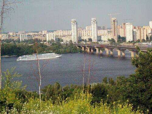 днепр и мост патона