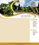 Дизайн сайта Санаторий  Золотой Колос  в Алуште ( наброски)