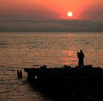 Закат над Амурским заливом