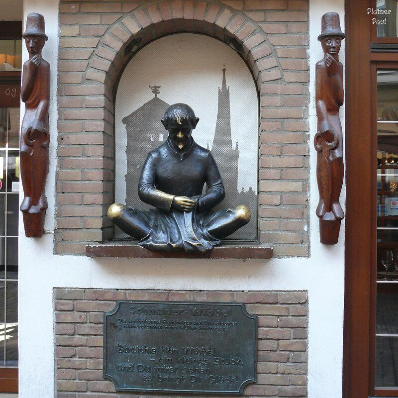 Портной Виббель (Schneider Wibbel)в Дюссельдорфе. Германия